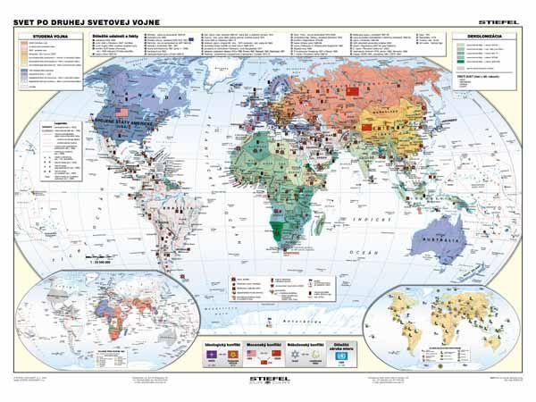 Mapa sveta 2.svetovej vojne